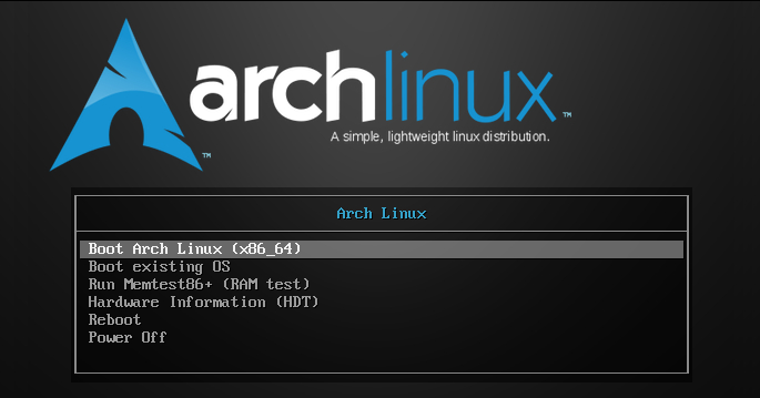 Bootstraping a minimal Arch Linux image