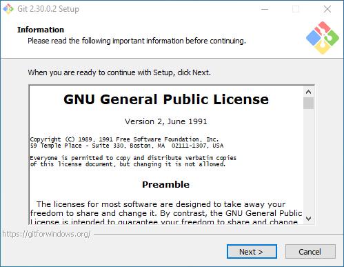 Collabora - Installing Git for Windows