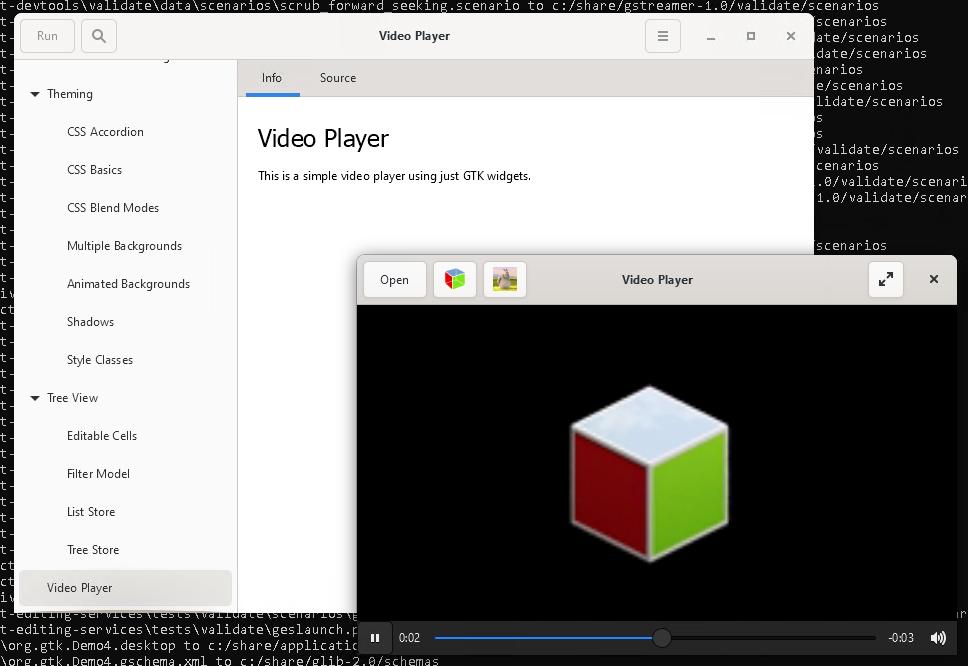 Collabora - GTK4's GStreamer media backend with Visual Studio