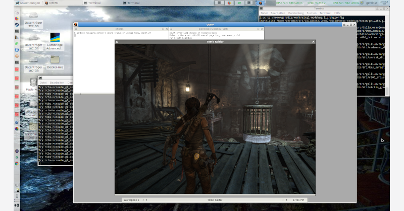 Virglrenderer and the state of virtualized virtual worlds